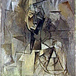 Pablo Picasso (1881-1973) Period of creation: 1908-1918 - 1909 Buste de femme2