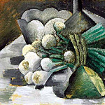 Pablo Picasso (1881-1973) Period of creation: 1908-1918 - 1909 Nature morte aux oignons