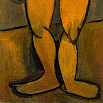 1908 Nu debout de face, Pablo Picasso (1881-1973) Period of creation: 1908-1918