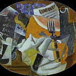 1912 Taverne , Pablo Picasso (1881-1973) Period of creation: 1908-1918