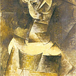 1910 Mademoiselle LВonide, Pablo Picasso (1881-1973) Period of creation: 1908-1918