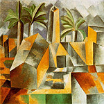 1909 Pressoir dolive Е Horta de Sant Joan , Pablo Picasso (1881-1973) Period of creation: 1908-1918