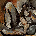Pablo Picasso (1881-1973) Period of creation: 1908-1918 - 1908 Nu couchВ