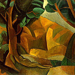 1908 Paysage aux deux figures2, Pablo Picasso (1881-1973) Period of creation: 1908-1918