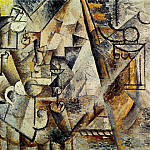 1911 Les Вchecs, Pablo Picasso (1881-1973) Period of creation: 1908-1918
