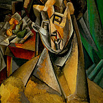 1909 Femme aux poires , Pablo Picasso (1881-1973) Period of creation: 1908-1918