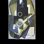 Pablo Picasso (1881-1973) Period of creation: 1908-1918 - 1918 lhomme Е la guitare