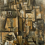 1912 Laficionado , Pablo Picasso (1881-1973) Period of creation: 1908-1918