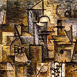Pablo Picasso (1881-1973) Period of creation: 1908-1918 - 1911 La grenade