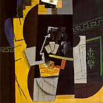 1913 Joueur de cartes1, Pablo Picasso (1881-1973) Period of creation: 1908-1918