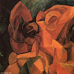 Pablo Picasso (1881-1973) Period of creation: 1908-1918 - 1908 trois femmes dВtail