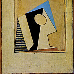 1918 Verre, Pablo Picasso (1881-1973) Period of creation: 1908-1918