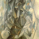 Pablo Picasso (1881-1973) Period of creation: 1908-1918 - 1909 Madonne