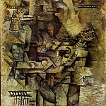 1911 La mandoliniste, Pablo Picasso (1881-1973) Period of creation: 1908-1918