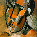 1908 TИte, Pablo Picasso (1881-1973) Period of creation: 1908-1918