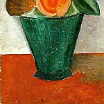 1908 Pot de fleurs, Pablo Picasso (1881-1973) Period of creation: 1908-1918