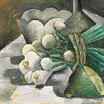 1908 Nature morte aux oignons, Pablo Picasso (1881-1973) Period of creation: 1908-1918