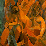 1908 Trois femmes, Pablo Picasso (1881-1973) Period of creation: 1908-1918