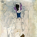 Pablo Picasso (1881-1973) Period of creation: 1908-1918 - 1911 Femme Е la guitare