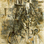 1911 LAccordВoniste, Pablo Picasso (1881-1973) Period of creation: 1908-1918