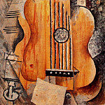 Pablo Picasso (1881-1973) Period of creation: 1908-1918 - 1912 Guitare Jaime Eva