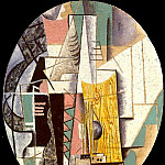 1912 Guitare1, Pablo Picasso (1881-1973) Period of creation: 1908-1918