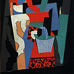 1917 LItalienne2, Pablo Picasso (1881-1973) Period of creation: 1908-1918