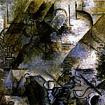 Pablo Picasso (1881-1973) Period of creation: 1908-1918 - 1911 Femme Е la guitare prКs dun piano