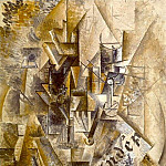 Pablo Picasso (1881-1973) Period of creation: 1908-1918 - 1911 LВventail ( LIndВpendant )