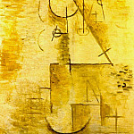 Pablo Picasso (1881-1973) Period of creation: 1908-1918 - 1911 TИte