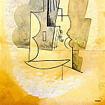 Pablo Picasso (1881-1973) Period of creation: 1908-1918 - 1915 Violon