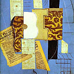 1913 Guitare, Pablo Picasso (1881-1973) Period of creation: 1908-1918