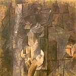 1910 Femme nue1, Pablo Picasso (1881-1973) Period of creation: 1908-1918