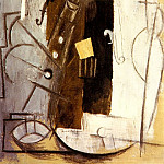 1913 Violon et clarinette, Pablo Picasso (1881-1973) Period of creation: 1908-1918