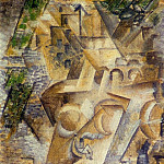 Pablo Picasso (1881-1973) Period of creation: 1908-1918 - 1911 Le Pont-Neuf