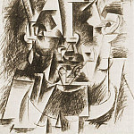 1910 TИte dhomme1, Pablo Picasso (1881-1973) Period of creation: 1908-1918