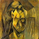 Pablo Picasso (1881-1973) Period of creation: 1908-1918 - 1909 TИte de femme (Fernande)