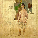 1914 Lartiste et son modКle, Pablo Picasso (1881-1973) Period of creation: 1908-1918