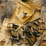 Pablo Picasso (1881-1973) Period of creation: 1908-1918 - 1910 Lencrier