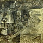 1911 La coiffeuse, Pablo Picasso (1881-1973) Period of creation: 1908-1918