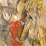 Pablo Picasso (1881-1973) Period of creation: 1908-1918 - 1909 Femme Е la mandoline