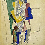 1914 Homme au gibus, Pablo Picasso (1881-1973) Period of creation: 1908-1918