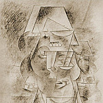1911 TИte despagnole, Pablo Picasso (1881-1973) Period of creation: 1908-1918