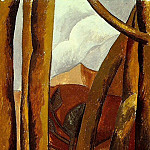 Pablo Picasso (1881-1973) Period of creation: 1908-1918 - 1908 Paysage5