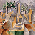 1909 Usine de briques Е Tortosa, Pablo Picasso (1881-1973) Period of creation: 1908-1918