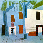 1913 Paysage de CВret, Pablo Picasso (1881-1973) Period of creation: 1908-1918