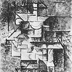 1911 Guitariste , Pablo Picasso (1881-1973) Period of creation: 1908-1918