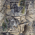 Pablo Picasso (1881-1973) Period of creation: 1908-1918 - 1911 La mandoliniste assise