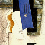 Pablo Picasso (1881-1973) Period of creation: 1908-1918 - 1912 Bec Е gaz et guitare