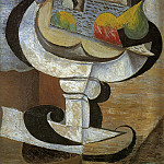 1917 Compotier, Pablo Picasso (1881-1973) Period of creation: 1908-1918